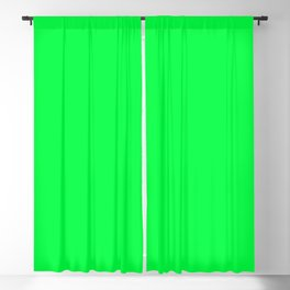 Erin Green Solid Color Blackout Curtain