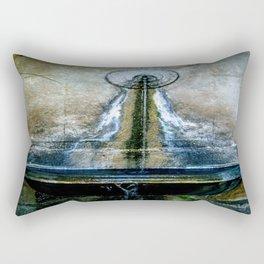 Fountain Bleu Rectangular Pillow