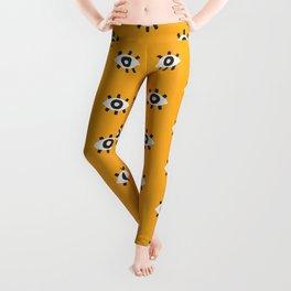 Evil Eye Dots – Marigold Palette Leggings
