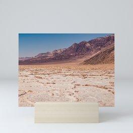 Badwater Basin, Death Valley Mini Art Print