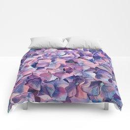 Violet hydrangea Comforters