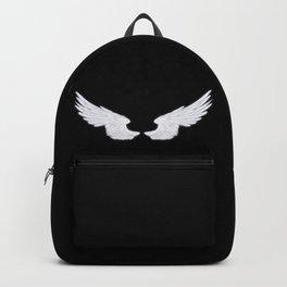 White Angel Wings Backpack