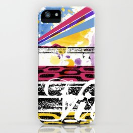 positive vibe  iPhone Case