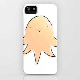Octopus Sketch iPhone Case