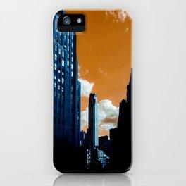NYC Duotone 3 iPhone Case