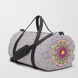 Garden Party Doodle Art Duffle Bag