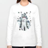 xmas Long Sleeve T-shirts featuring ~Xmas by SOPHIA FREITAS