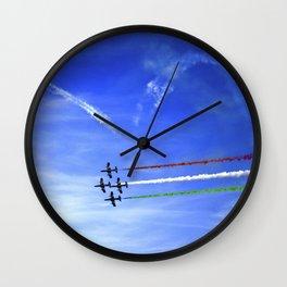 Cupid's Arrow - Frecce Tricolori Wall Clock