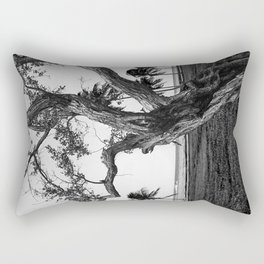 Tree in front of the sea Rectangular Pillow