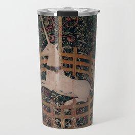 Unicorn Magical Animal Medieval Art Travel Mug