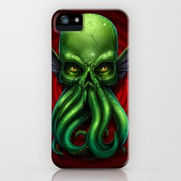 Cthulhu Skull 2013 iPhone Case