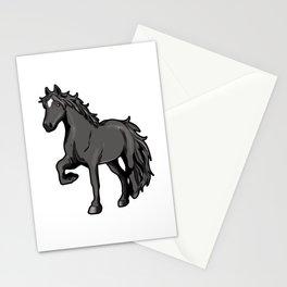 Percheron Draft Horse Pony Stationery Cards