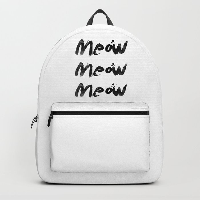 Meow Meow Meow 2 Backpack