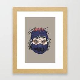 Professionally Deviant Framed Art Print