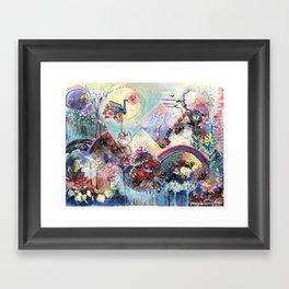 Flourishland Framed Art Print