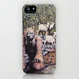The Three Billy Goats Gruff iPhone Case