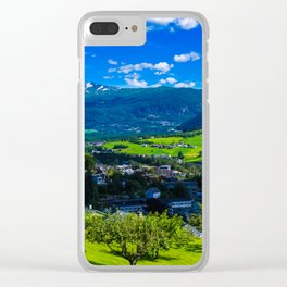 Norway summer Clear iPhone Case