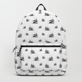 This Skull Is My Home (Snail & Skull) Backpack