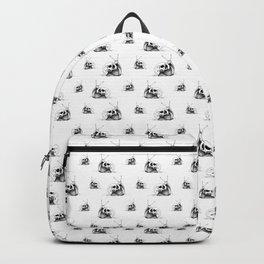 This Skull Is My Home (Snail & Skull) Backpack