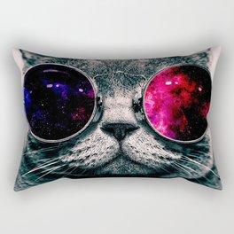 sunglasses cat Rectangular Pillow