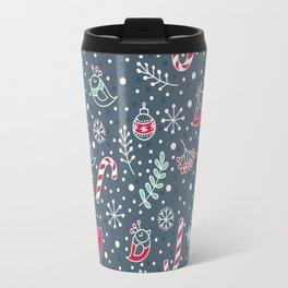 Cute christmass pattern Travel Mug