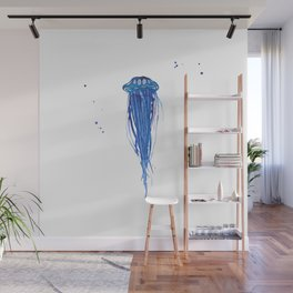 Cobalt Squishy Wall Mural