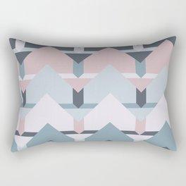 Scandi Waves #society6 #scandi #pattern Rectangular Pillow