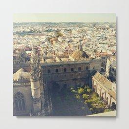 Seville - Skyline & Rooftops Metal Print