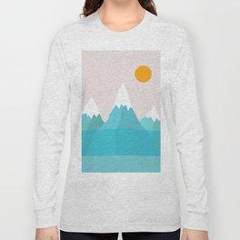 Abstract landscape VI Long Sleeve T-shirt