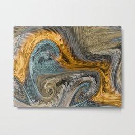Fire Wind Metal Print
