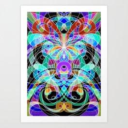 Ethnic Style G11 Art Print