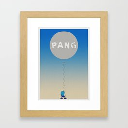Pang Framed Art Print