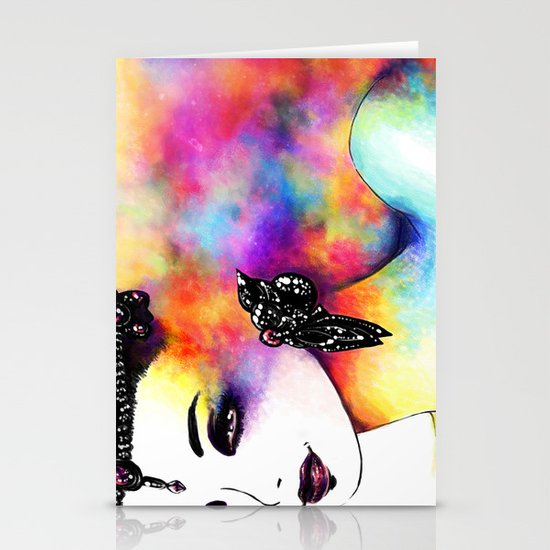 THE MAGIC OF EYES Stationery Cards