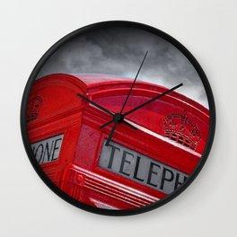 Old school telephone - London Wall Clock