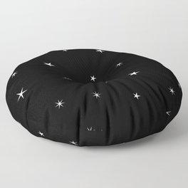 Spaceboy and Spacegirl Floor Pillow