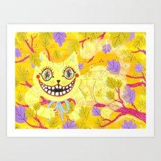 Cheshire Cat Art Print