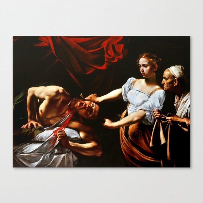 Caravaggio Judith Beheading Holofernes Leinwanddruck