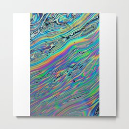 colour pattern reflection fun 2018 water color Metal Print