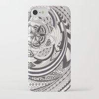 fibonacci iPhone & iPod Cases featuring Fibonacci Effect by SRC Creations