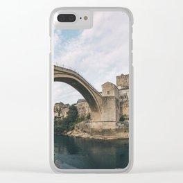 Mostar, Bosnia and Herzegovina Clear iPhone Case
