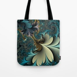 Birds of a Feather Fractal Tote Bag