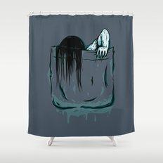 Pocket Samara Shower Curtain