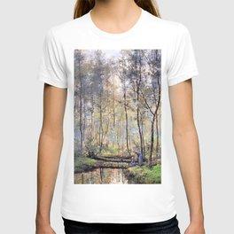 12,000pixel-500dpi - Hendrik Willem Mesdag - Riverbank - Digital Remastered Edition T-shirt