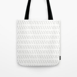 Ticks in a Row Tote Bag
