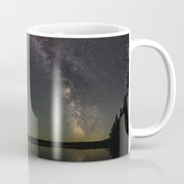 Milky Way and Steve Coffee Mug