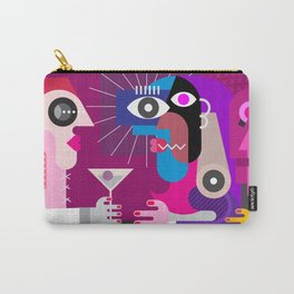 A Woman With a Cocktail Carry-All Pouch