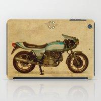 ducati iPad Cases featuring Ducati 900SS Darmah 1979 by Larsson Stevensem