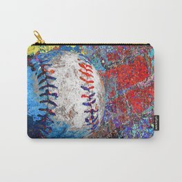Baseball art print work 10 Carry-All Pouch