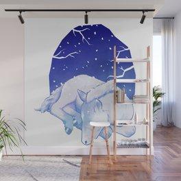 Slumbering Foal Wall Mural