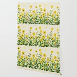 Yellow Wildflowers Wallpaper